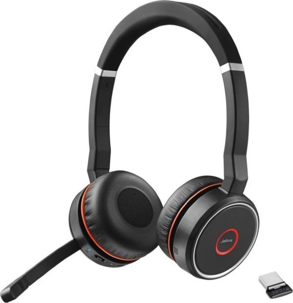 Bluetooth стереогарнитура Jabra Evolve 75 Stereo MS