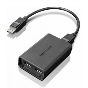 Lenovo Displayport to dual Displayport