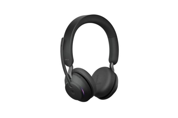 Беспроводная стерео гарнитура Jabra Evolve2 65, Link380a MS Stereo Black 26599-999-999