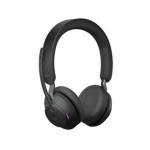 Беспроводная гарнитура Jabra Evolve2 65, Link380c MS Stereo Black 26599-999-899